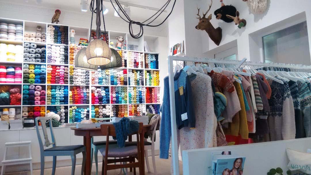Yarn Freak Interior